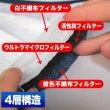 画像3: 紺色マスク 4層不織布マスク 個別包装 男女兼用 20枚パック (3)
