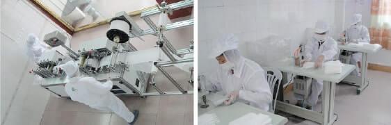 日本人管理の下、中国に自社マスク工場を建設