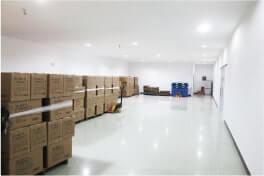 整理整頓された倉庫