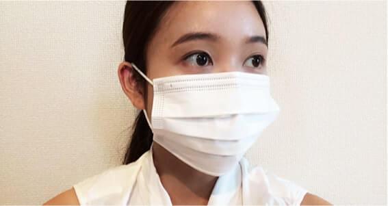 咳が出るときはマスクをしましょう