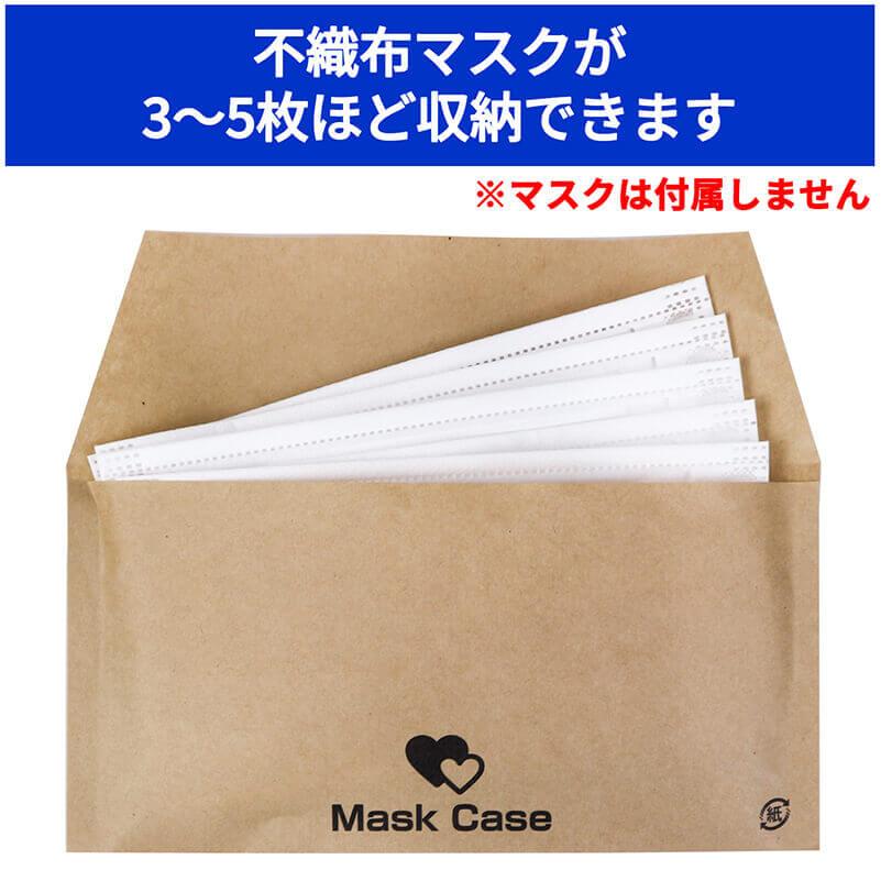 マスクが最大で3〜5枚ほど入ります ※マスクは付属しません。